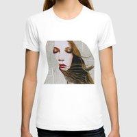 literary T-shirts featuring Literary Girl by Charlotte Massey