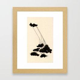 Sedate Eight Framed Art Print