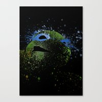 leo Canvas Prints featuring Leo by Arian Noveir