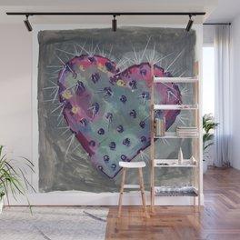 cactus heart Wall Mural