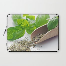 Basil herbs for kitchen Laptop Sleeve