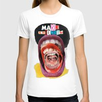 marie antoinette T-shirts featuring Marie Antoinette by Genco Demirer