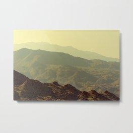 Palm Springs Mountains I Metal Print