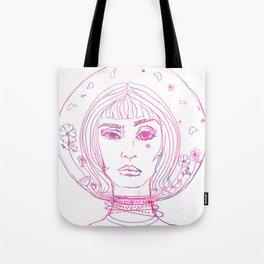 Barbarella Space Princess Tote Bag