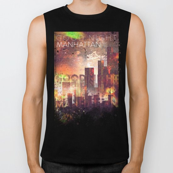 Good night Manhattan Biker Tank