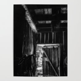 Did you Grow Up in a Barn Poster