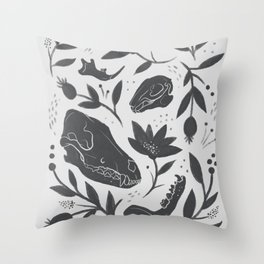 Forest Floor Throw Pillow