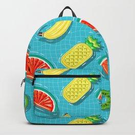 Pool Party pineapple, watermelon,banana,kiwi Backpack