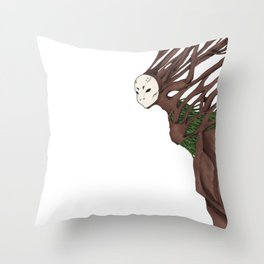 Personal Demon: Claustrophobia Throw Pillow