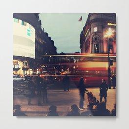 Piccadilly Circus Metal Print