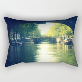 Early Hour Amsterdam. Rectangular Pillow