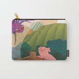 The spider and the pig Carry-All Pouch