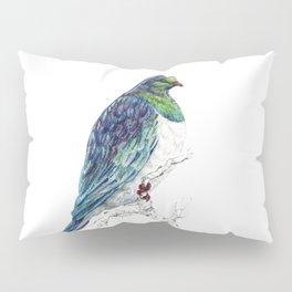 Mr Kereru, New Zealand native wood pigeon Pillow Sham