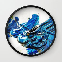 Blue Tooth Wall Clock