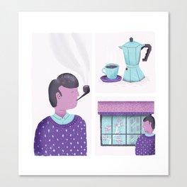 Routine Canvas Print