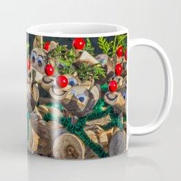 Wooden Rudolph's. Coffee Mug