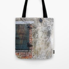 Dark Window Tote Bag