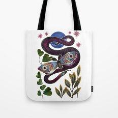 Moth & Snake Tote Bag