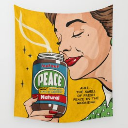 Instant Peace Wall Tapestry