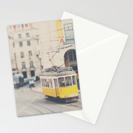 city trams ...  Stationery Cards