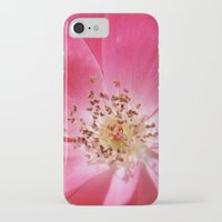hot pink iPhone & iPod Cases featuring Hot Pink by Zayda Barros
