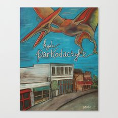 Hyde Parkodactyle Canvas Print
