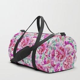 Beautiful soft pink peonies II Duffle Bag