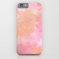 Orange Pink Watercolor iPhone 6s Slim Case