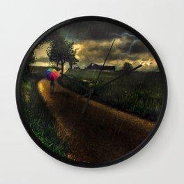 A Stormy Night Wall Clock