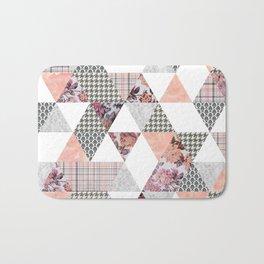 Pink Patterns Bath Mat