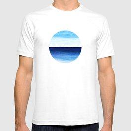 Blue & blue T-shirt