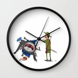 The False Grandmother Wall Clock