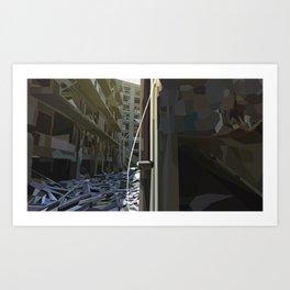Dereliction Art Print