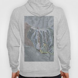 Brundage Resort Trail Map Hoody