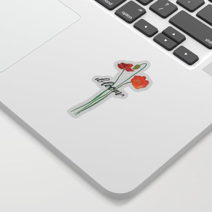 In Bloom Sticker