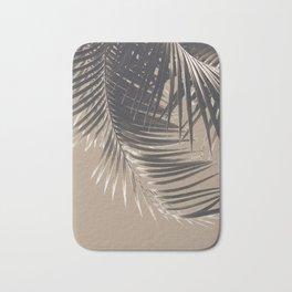 Palm Leaves Sepia Vibes #2 #tropical #decor #art #society6 Bath Mat