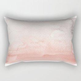 Pink Rain Rectangular Pillow