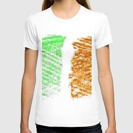 flag of ireland 10 -ireland,eire,airlann,irish,gaelic,eriu,celtic,dublin,belfast,joyce,beckett T-shirt