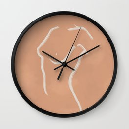 Female Form #4 Wall Clock