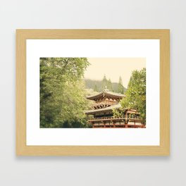 Valley of the Temples Framed Art Print