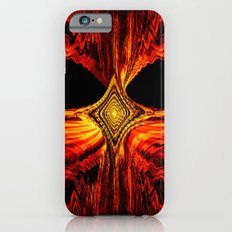 Abstract.Red Flame. Slim Case iPhone 6s