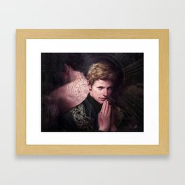 BBC Merlin: In The Name of The Father  Framed Art Print