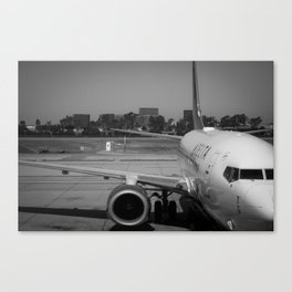 Pre Take-Off Canvas Print