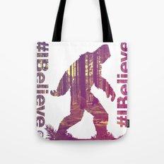 #Ibelieve Big Foot Tote Bag