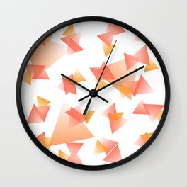 Coral Dreams Wall Clock
