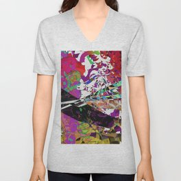 Battle Scene Unisex V-Neck