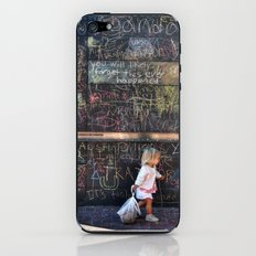 Taking my Chalk and Going Home iPhone & iPod Skin