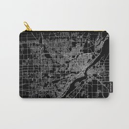 Toledo map ohio Carry-All Pouch