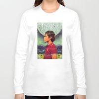 boy Long Sleeve T-shirts featuring Boy by Ryan Haran