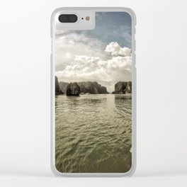 Vietnam Halong Bay Color Clear iPhone Case
